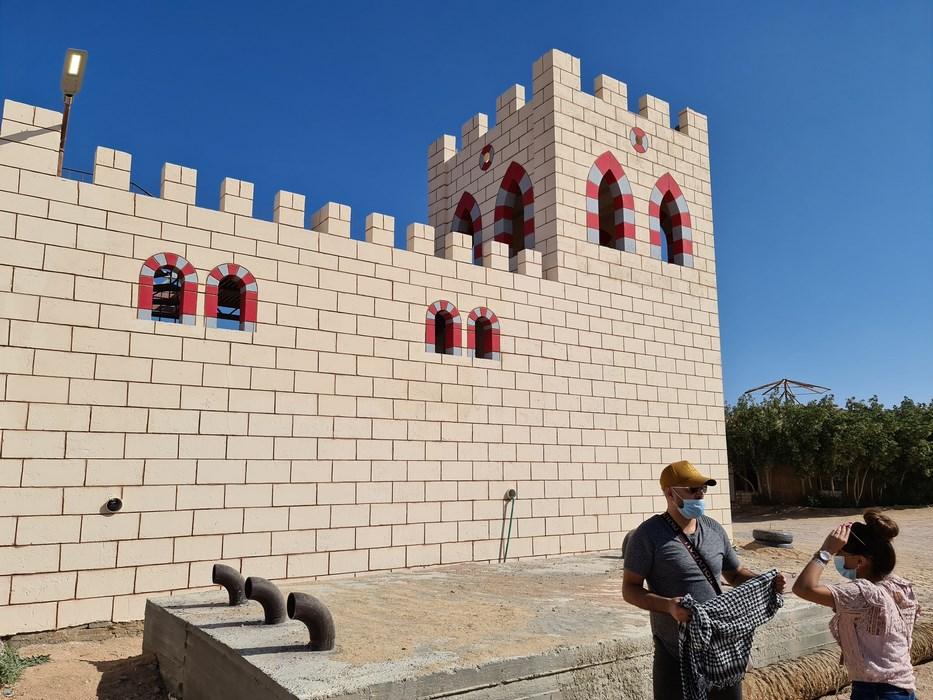 Citadela in desert