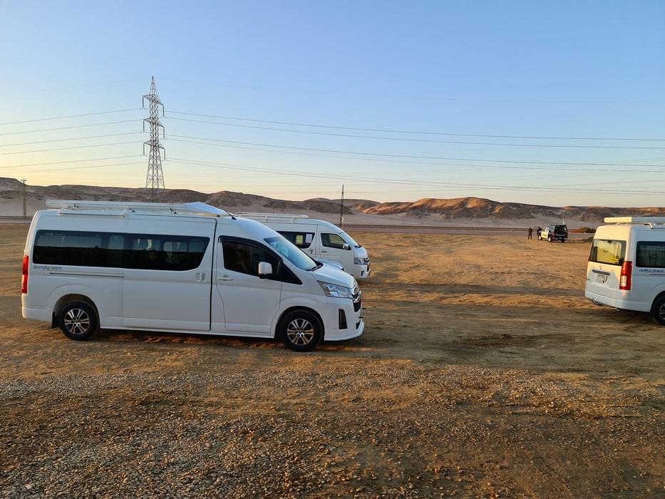 Microbuz turistic Egipt