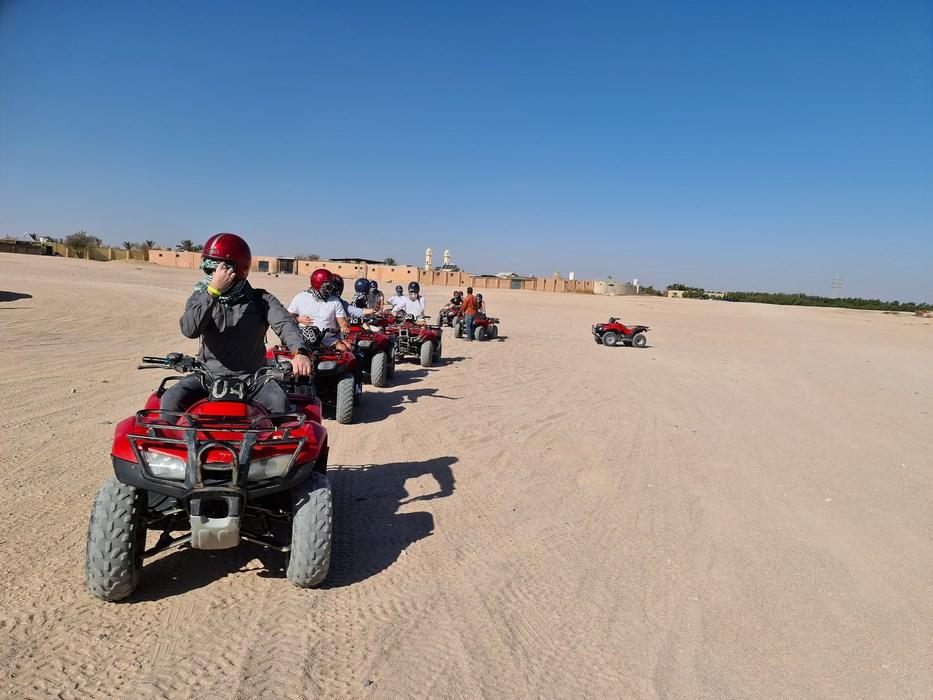 ATV desert safari