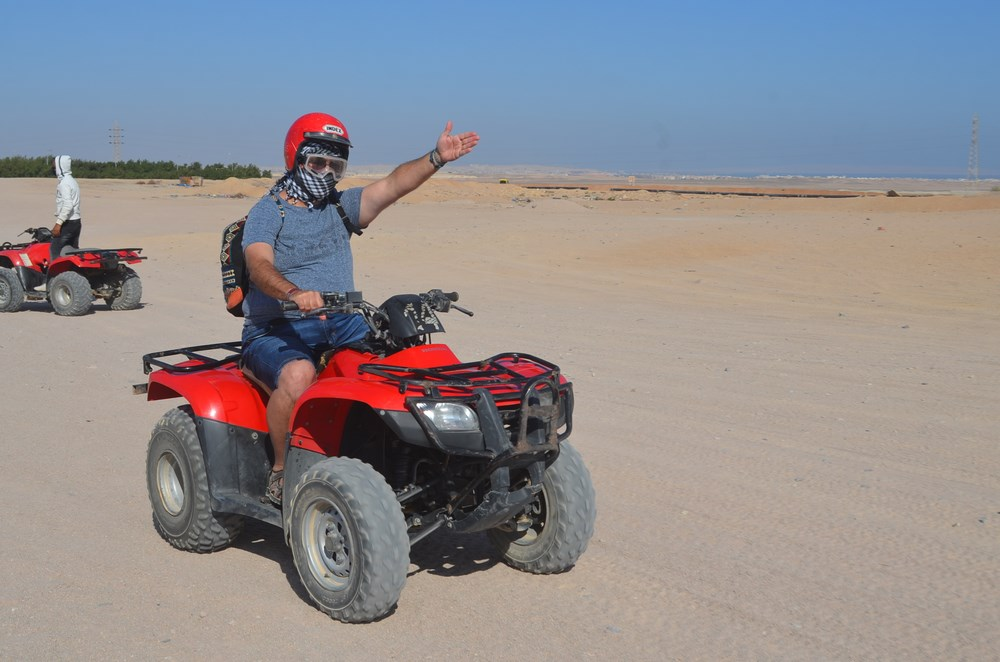 ATV desert safari Hurghada