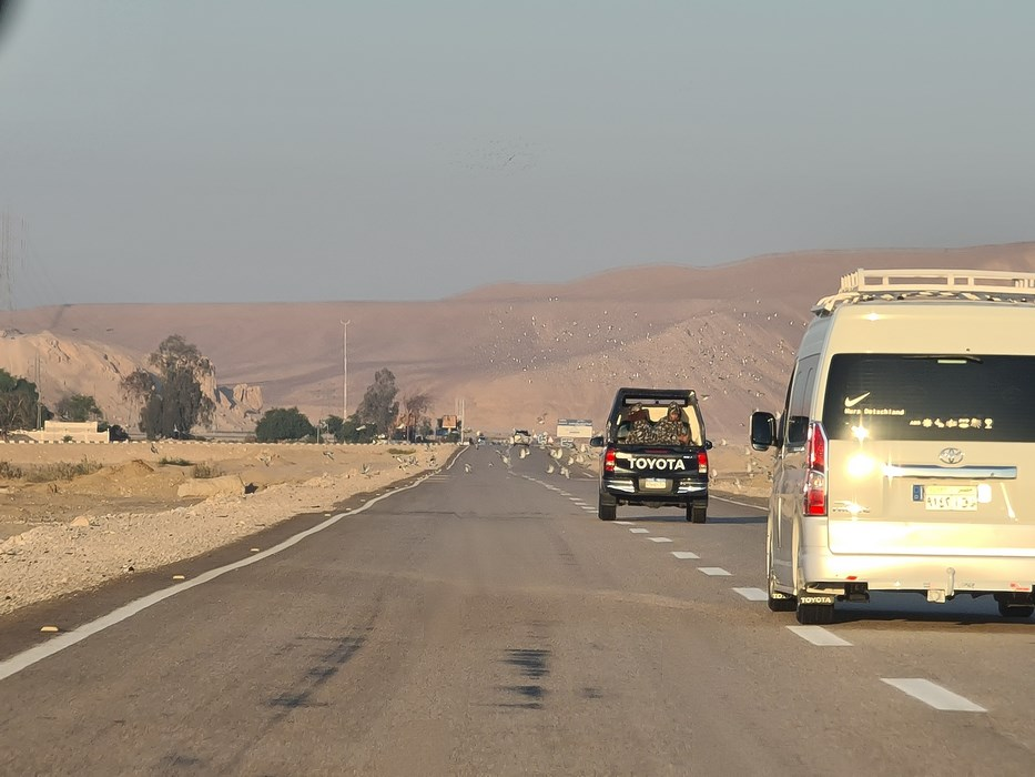 Autostrada Hurghada Luxor