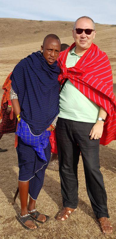 Cu un masai
