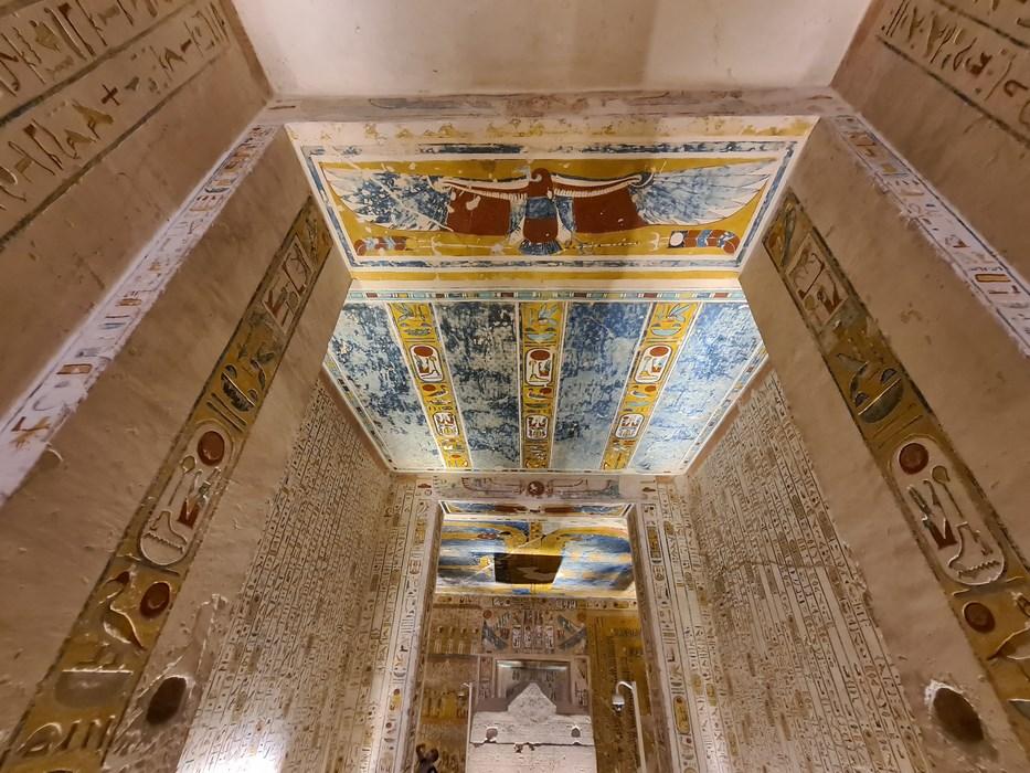 Mormant Ramses IV Valea Regilor