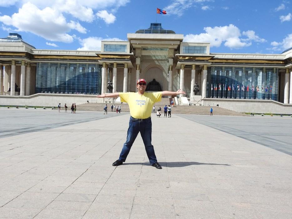 Piata centrala Ulaan Bataar