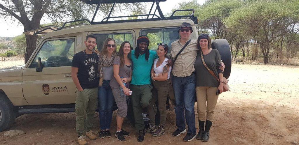 Echipaj safari Tanzania