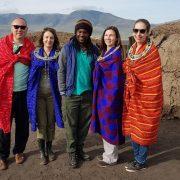 Imbracati in masai