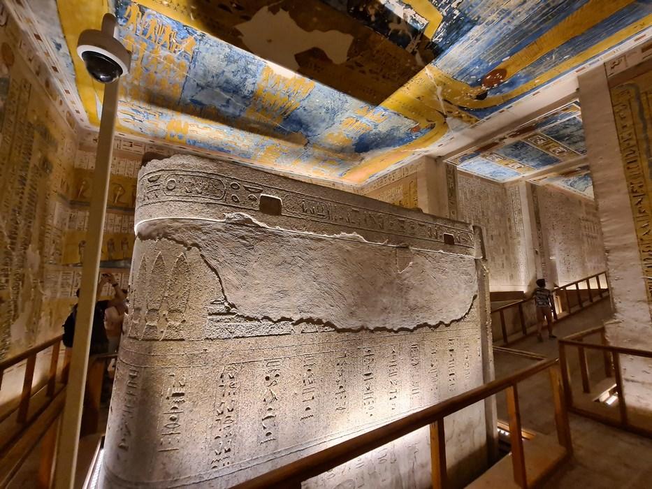 Sarcofag Ramses IV Valea Regilor