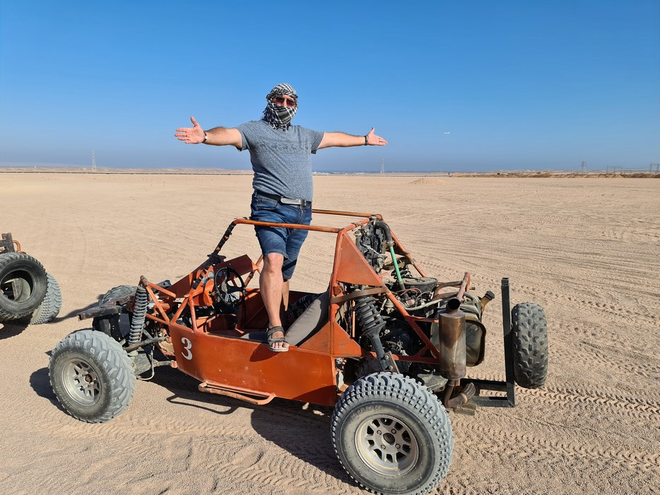 Spider car Egipt