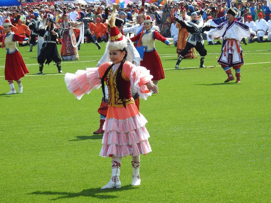 Dansatoare mongola