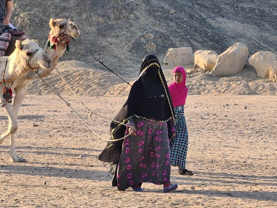 Femei beduini