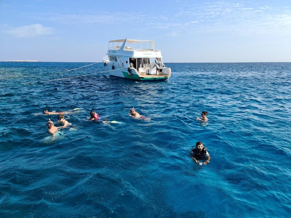 Snorkeling Marea Rosie