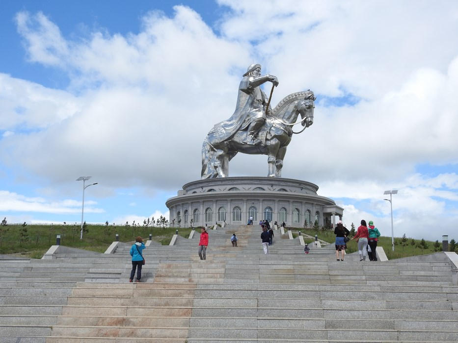 Statuie Genghis Han
