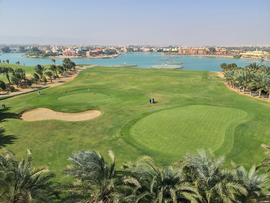 Golf in El Gouna