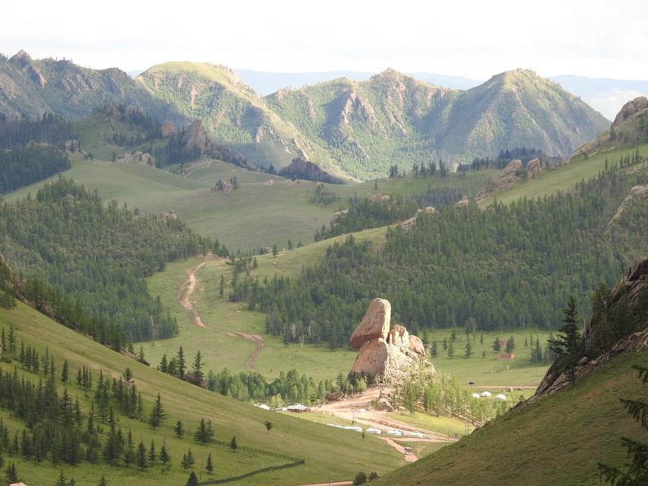 Terelj. Mongolia