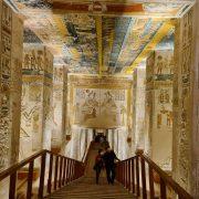 Intrare mormant Ramses V VI