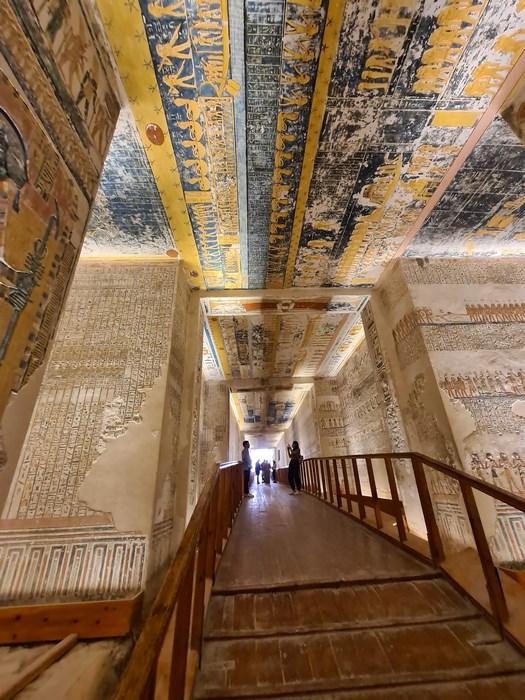 Valea Regilor Ramses V VI
