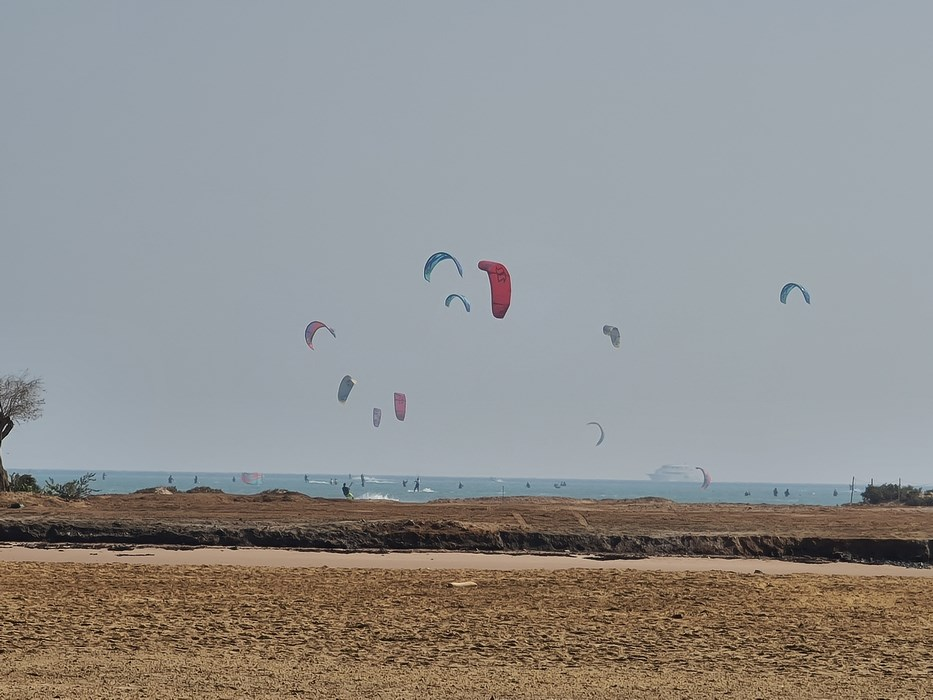 Wind surfing El Gouna