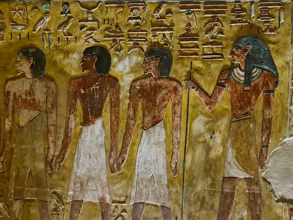 Muncitori egipteni