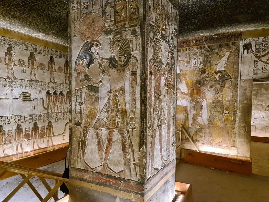 Faraon Seti I Valea Regilor