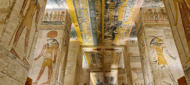 Valea Regilor Mormant Ramses V VI