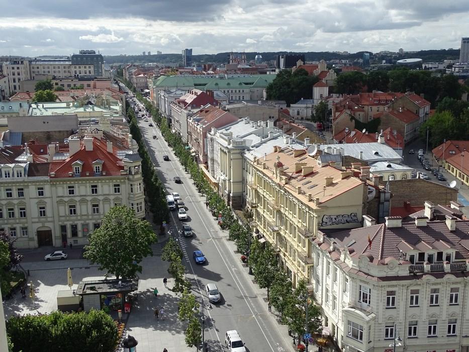 Bulevard central Vilnius Tarile Baltice