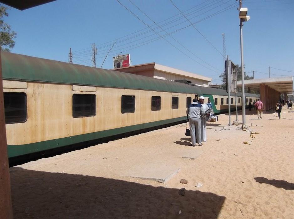 Aswan peron cu nisip