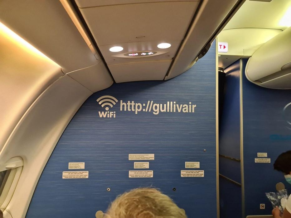Interior avion Gullivair
