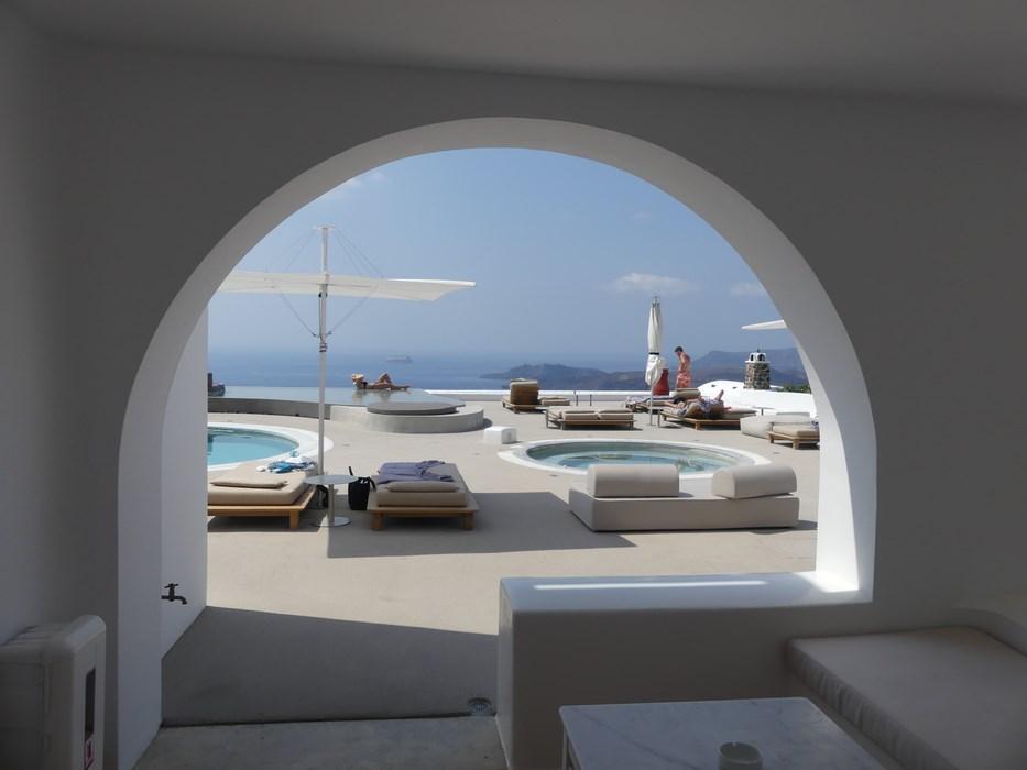 View din camera Lilium Santorini