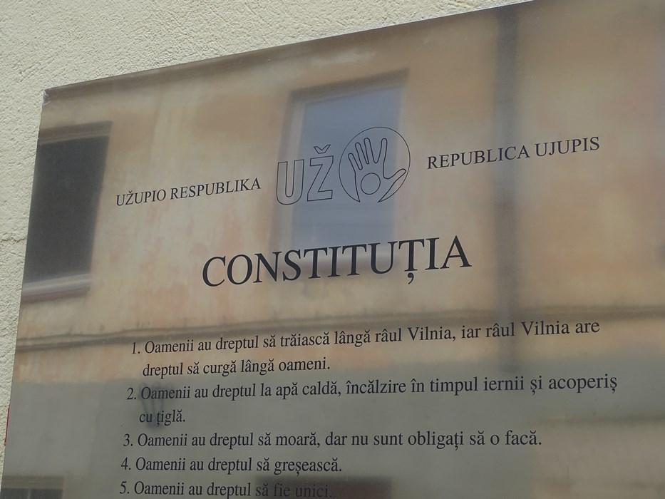 Constitutie Uzupio