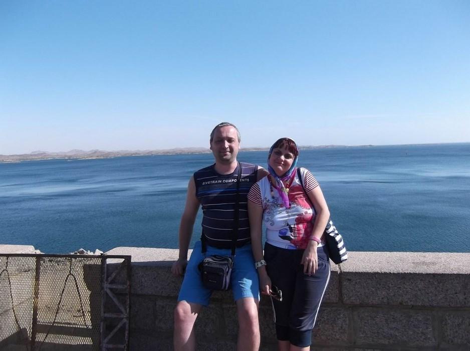 Barajul si lacul Nasser
