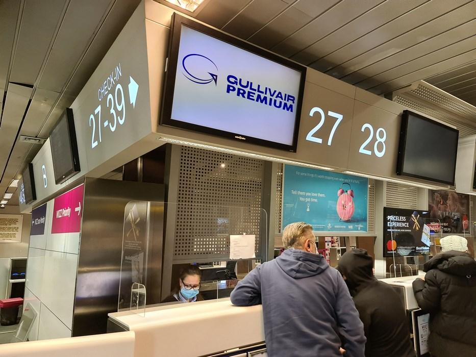Priority boarding Gullivair