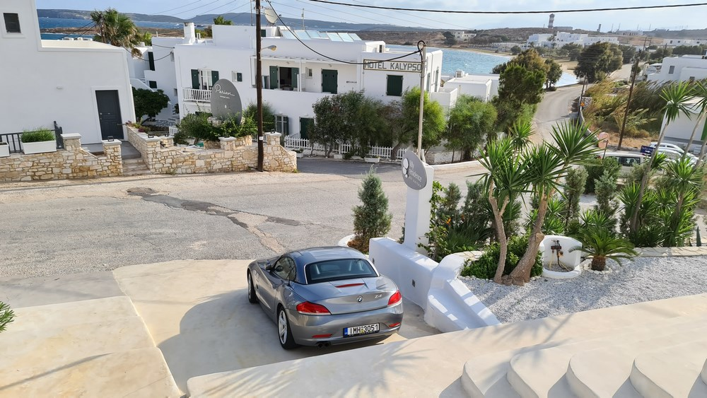 In fata Lilly Residence Paros
