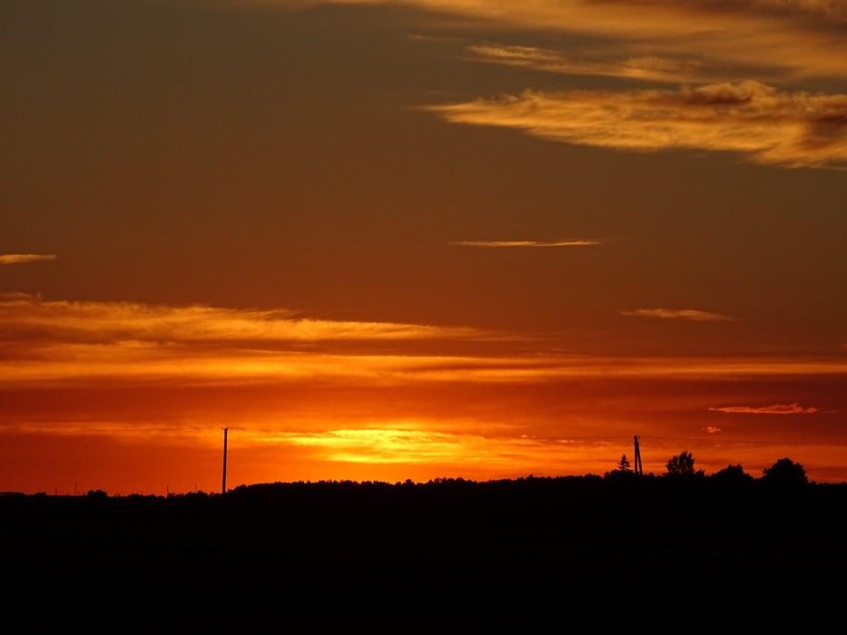 Apus de soare Tarile Baltice