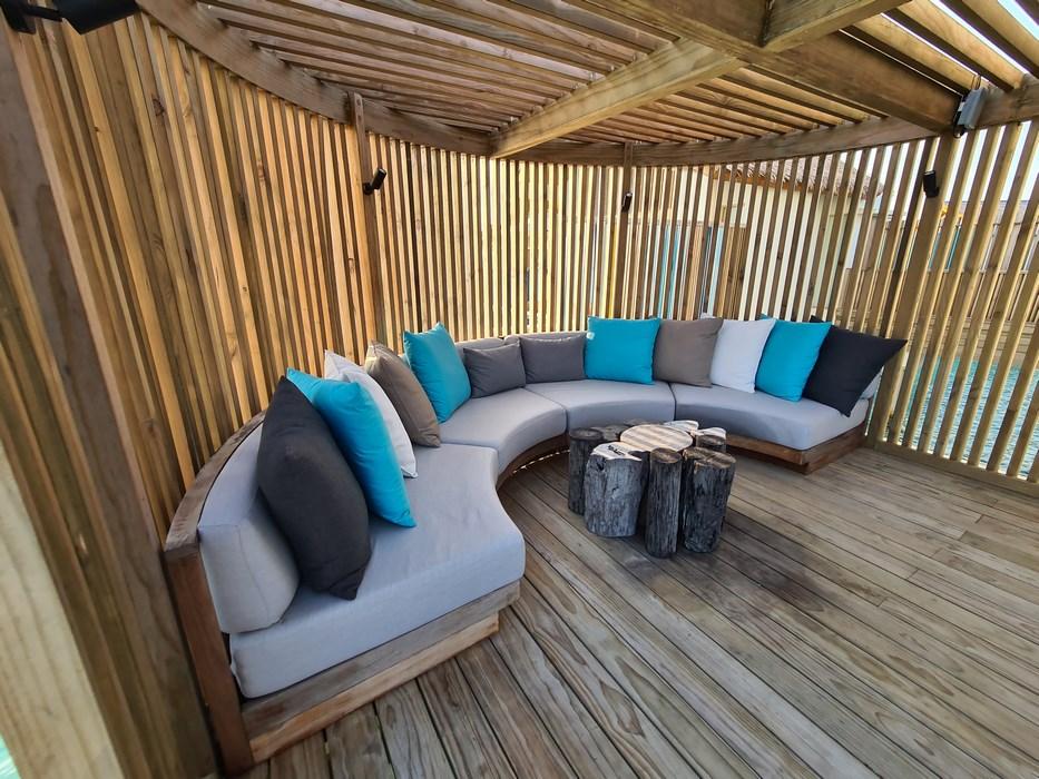 Rock Star Suite Hard Rock Hotel Maldives pavilion chill