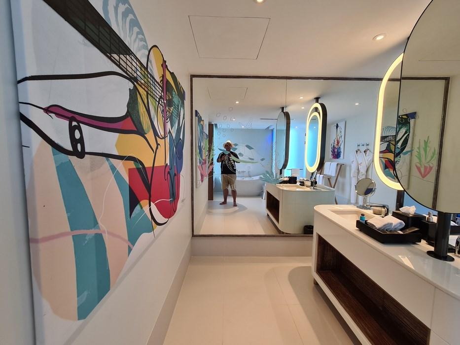 Rock Star Suite Hard Rock Hotel Maldives baie