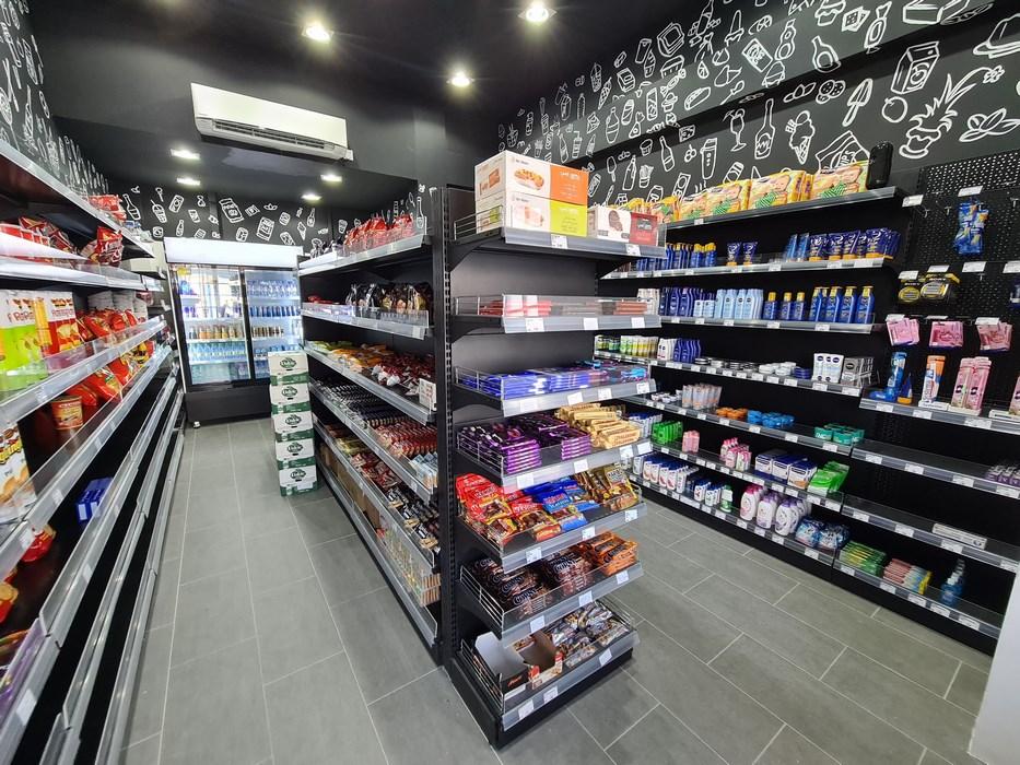 Supermarket in Saii Lagoon