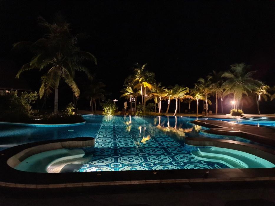 Night in Saii Lagoon