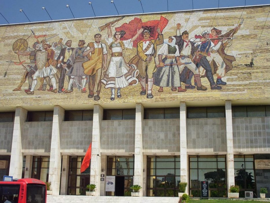 Muzeul National Istorie Albania Tirana