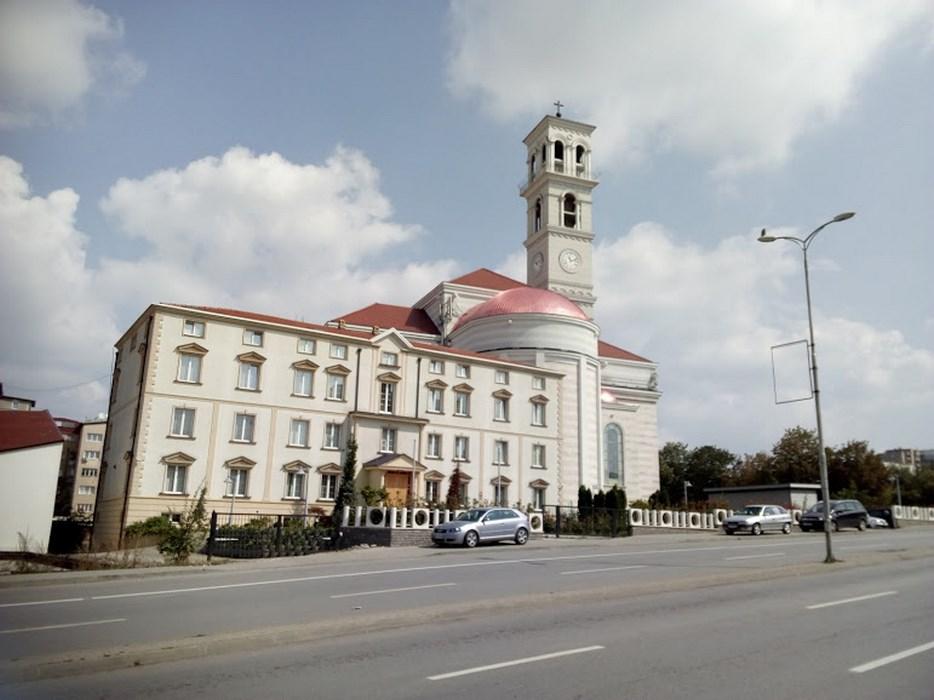 Biserica catolica Pristina