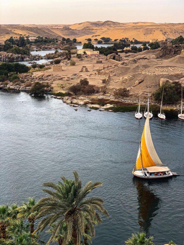 Aswan feluca
