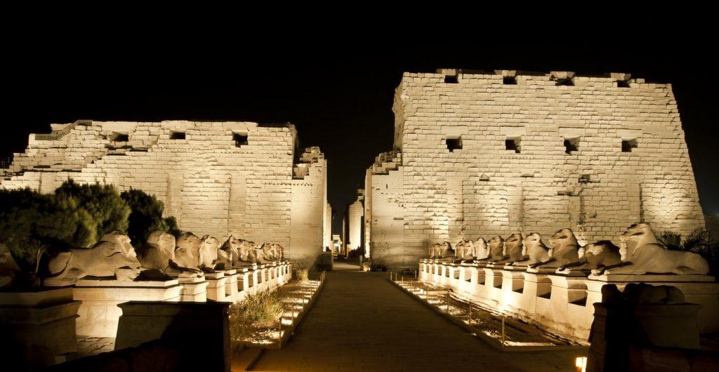 Light sound Karnak