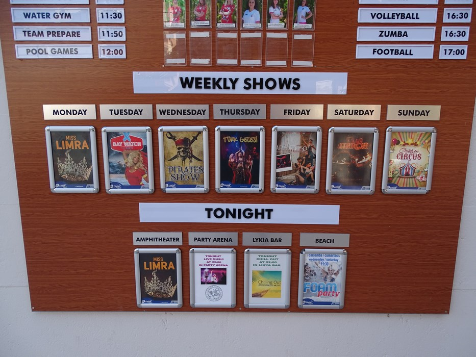 Program entertainment Antalya
