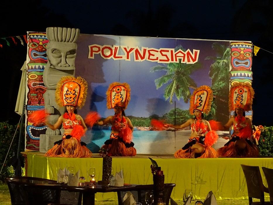 Spectacol polinezian in Thailanda