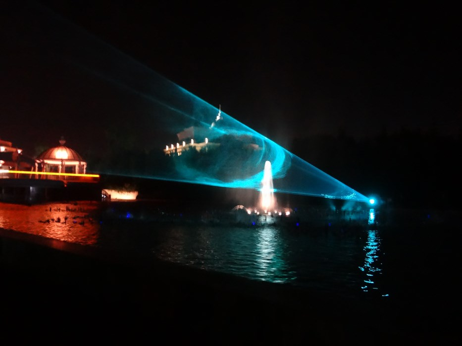 Water and light show Mardan Palace