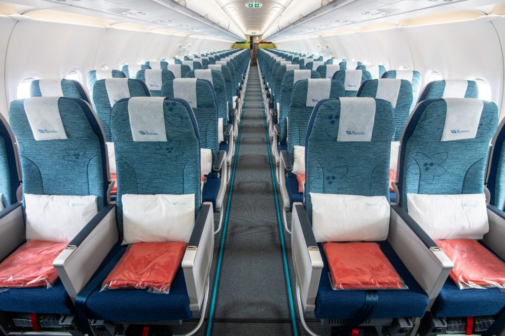 Air Seychelles interior