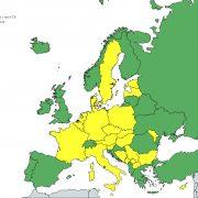 Harta Europa martie