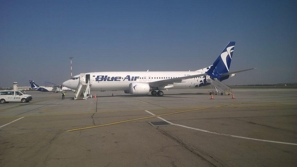 Blue Air Boeing 737 MAX