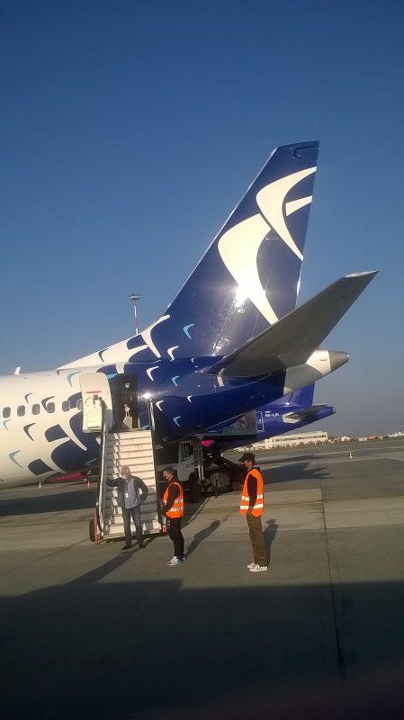 Coada Boeing MAX Blue Air