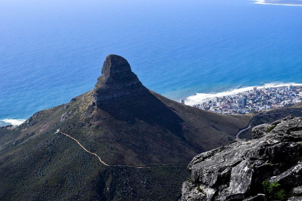 Cape Town de pe Table Mountain