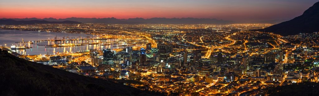 Cape Town noaptea